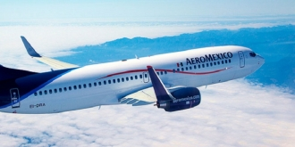 Aeromexico free inflight messaging on 737s