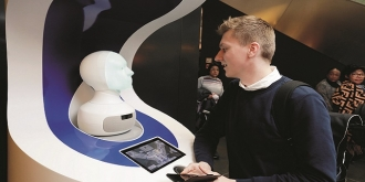 Frankfurt Airport trials robotic concierge