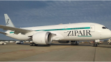ZIPAIR first passenger flight