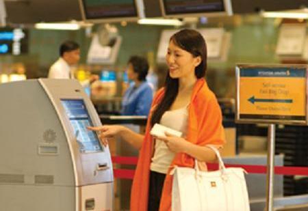 SIA kiosk check-in