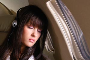 Do passengers prefer to sleep or use inflight WiFi on long flights?