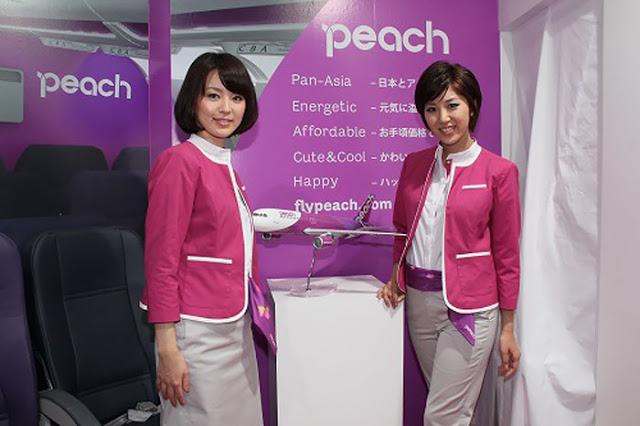 Peach Airlines cabin crew