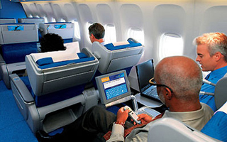 KLM and AF inflight wifi trial