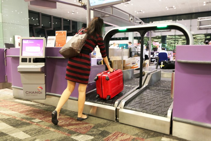 Passenger self-service trial at Changi