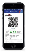 Southwest passengers can now use a mobile boarding pass across the US