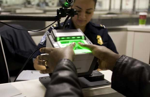 US to collect biometrics of foreigners leaving