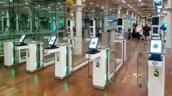 ABC eGates installed at St. Pancras International rail station