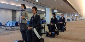 ANA to expand self-driving wheelchair tests at Narita Airport