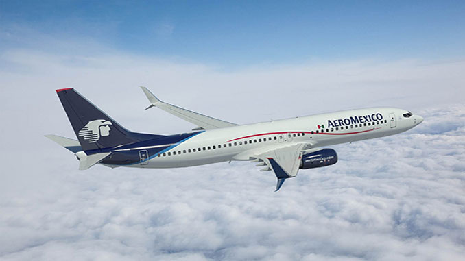 Aeromexico to equip 60 737 MAX with IFE from Panasonic