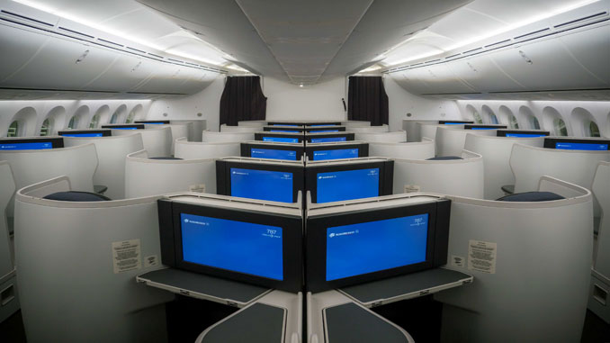 Aeromexico reveals interior of it's Boeing 787-9