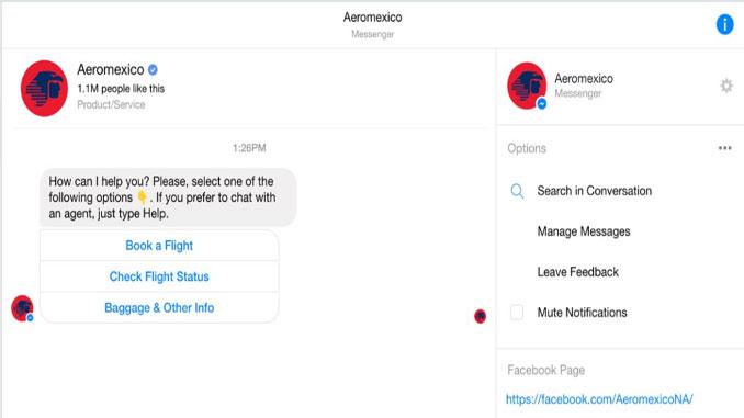 Aeromexico-chatbot