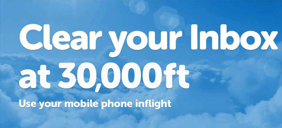 AeroMobile launches world's first inflight 3G service