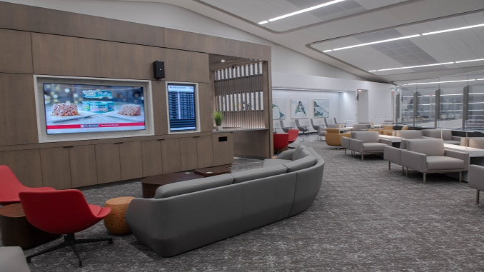 Air Canada Maple Leaf lounge - LaGuardia