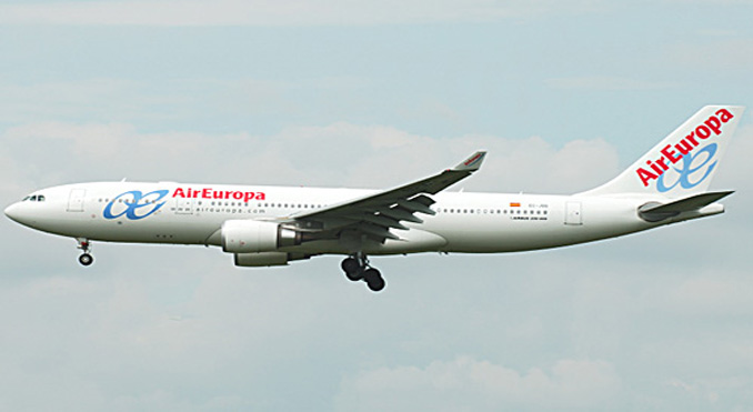 Air Europa launches Wi-Fi service on long-haul flights