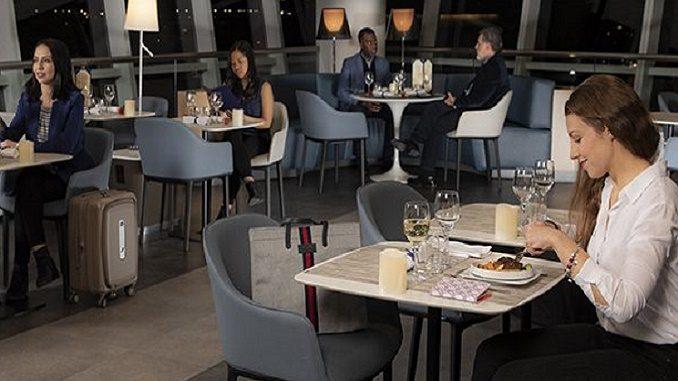 Air France JFK lounge