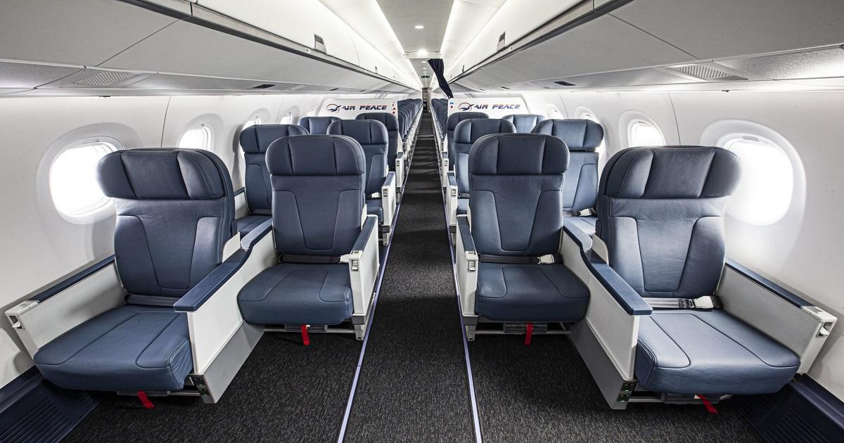 Air Peace E195-E2 Business Class