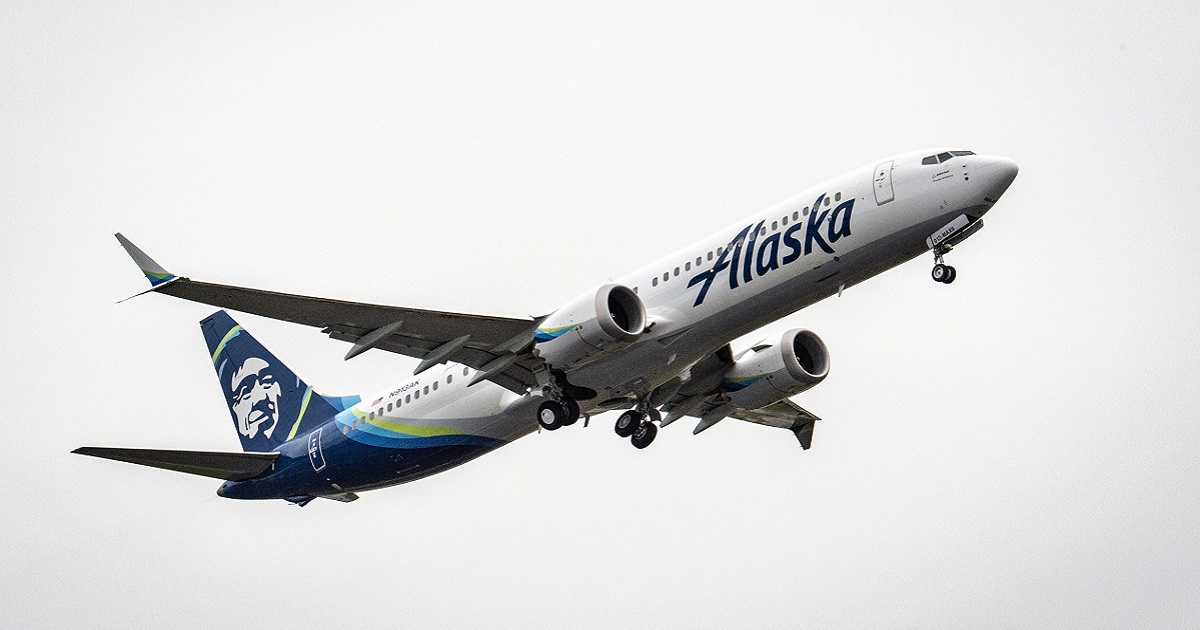 Alaska Airlines Boeing 737-9 MAX