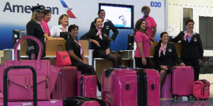 American Airlines goes pink in October for breast cancer awareness