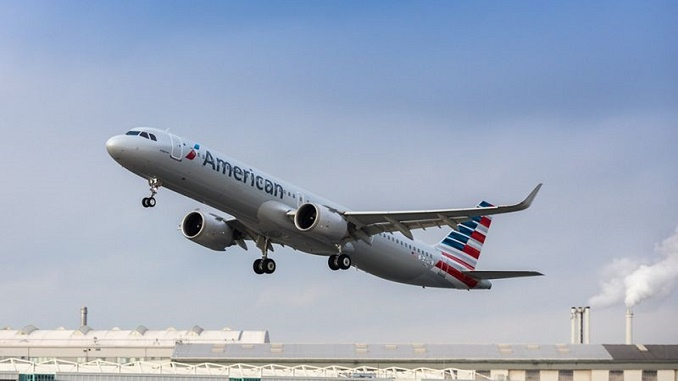 American Airlines first A321neo
