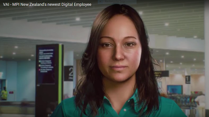 Auckland Airport digital employee