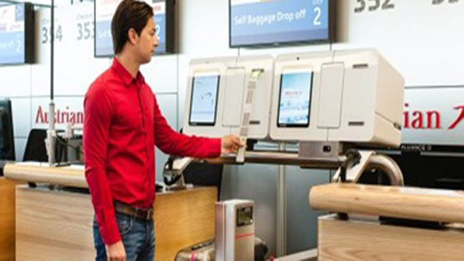 Austrian launches self bag drop trial at Vienna