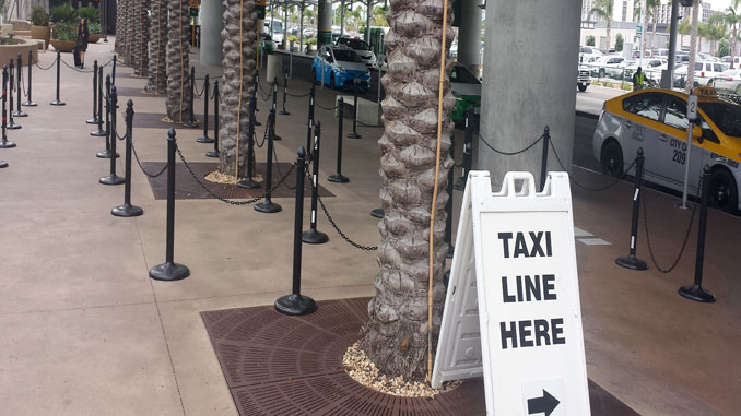 San Diego Airport uses tech to get taxis faster for passengers