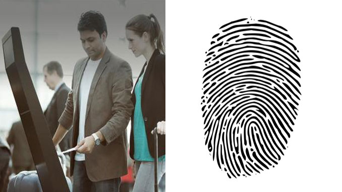 The biometric trial at Bengaluru is based on fingerprint recognition