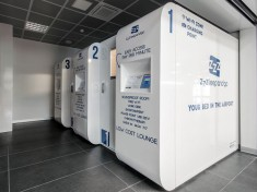 Bergamo installs sleeping pods