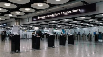 British Airways Heathrow T5 connections area