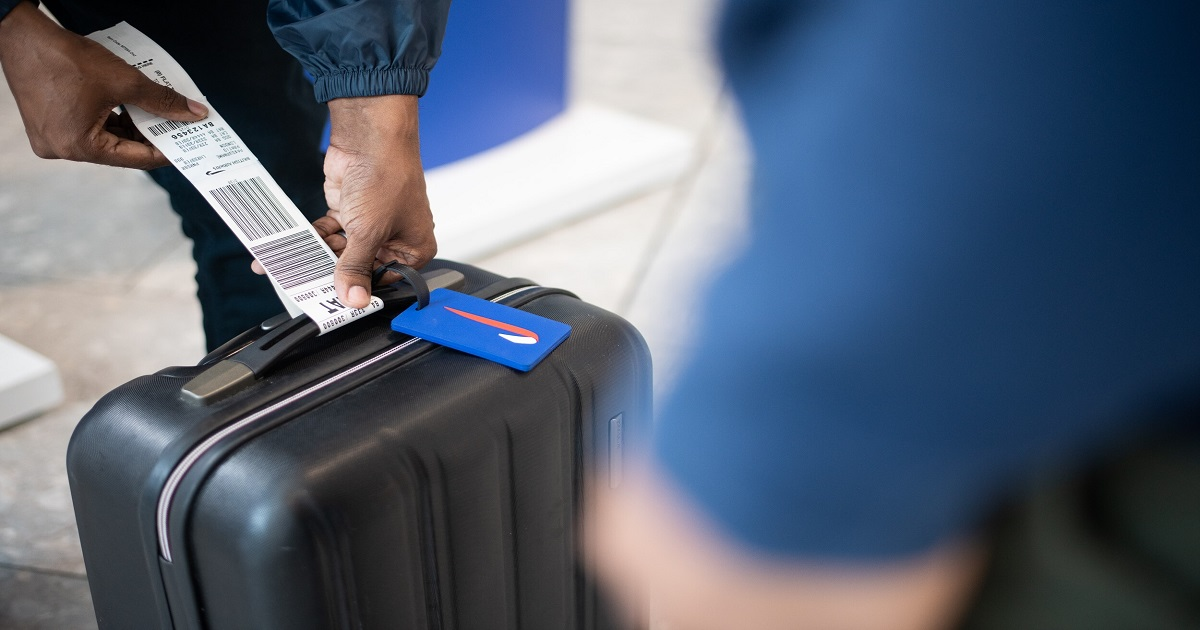British Airways LHR T5 new self bag drop