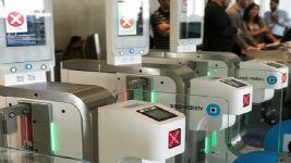 British Airways biometric boarding at LAX
