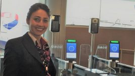British Airways biometric boarding at Orlando