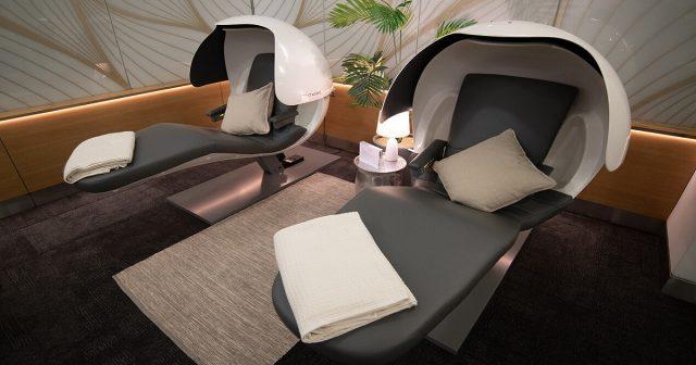 British Airways nap lounge
