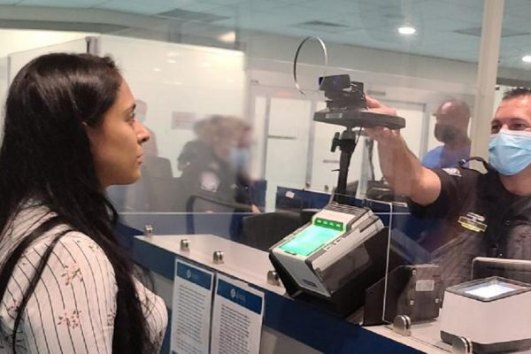CBP facial recognition at San Juan