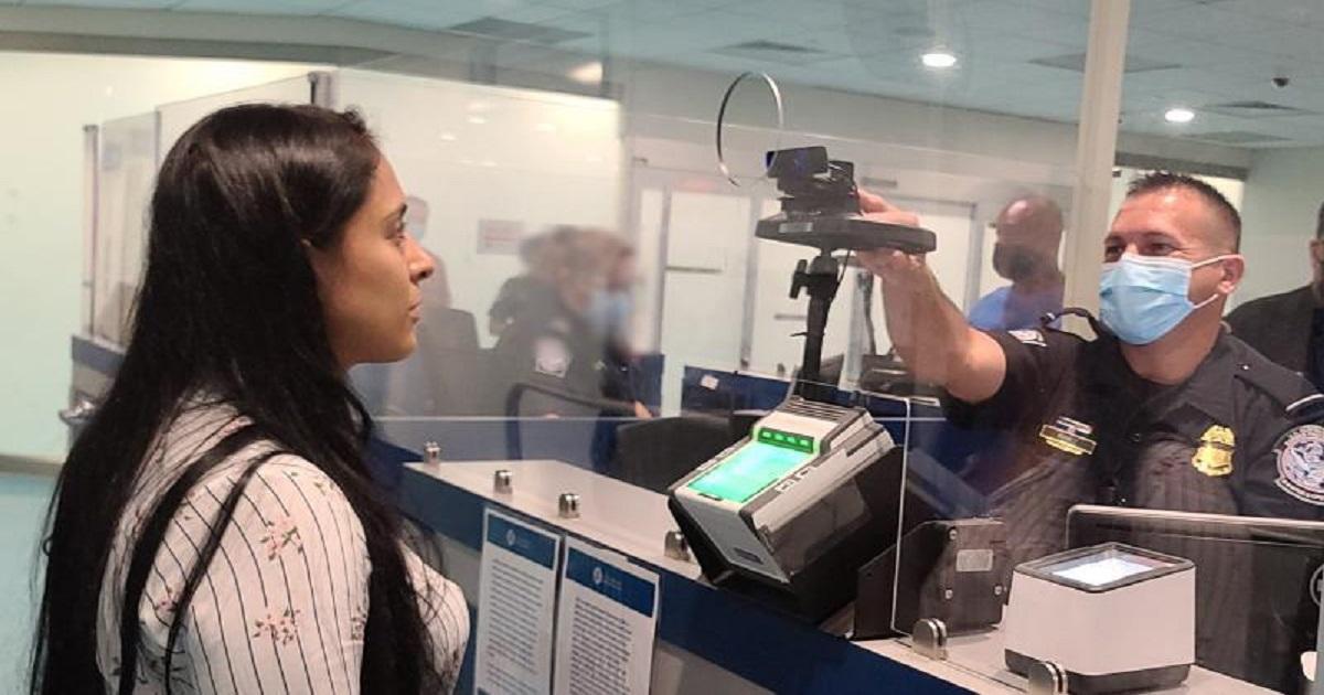 CBP facial recognition at San Juan