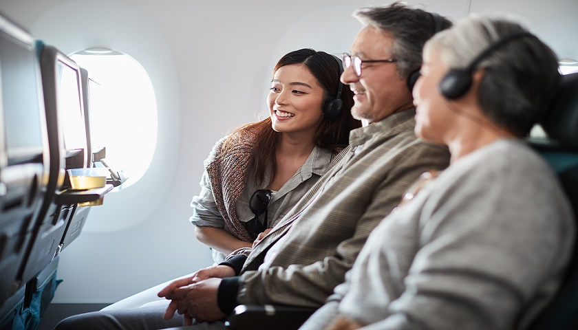 Cathay Pacific is quadrupling the amount of IFE for its passengers