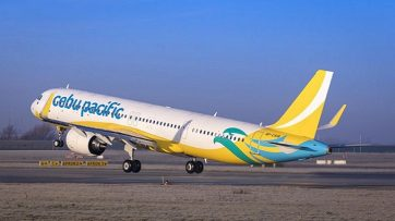 Cebu Pacific receives 1st A321neo