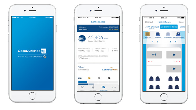 Copa Airlines introduces new mobile app