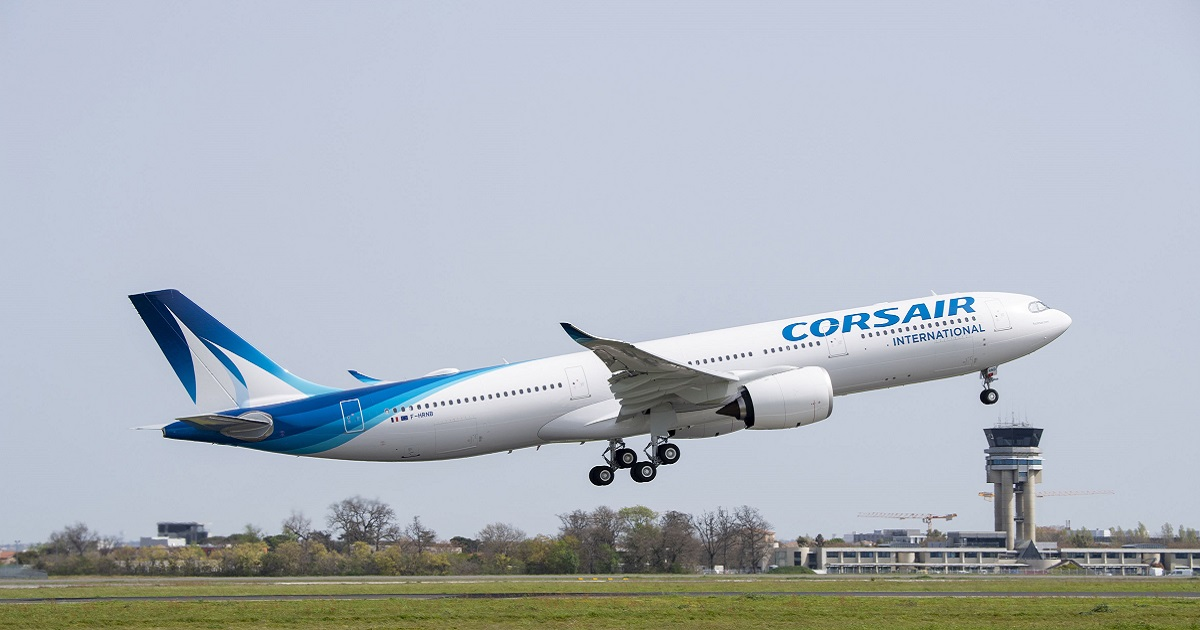 Corsair's first A330-900