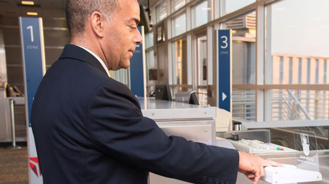Delta trials biometric boarding at Washington National