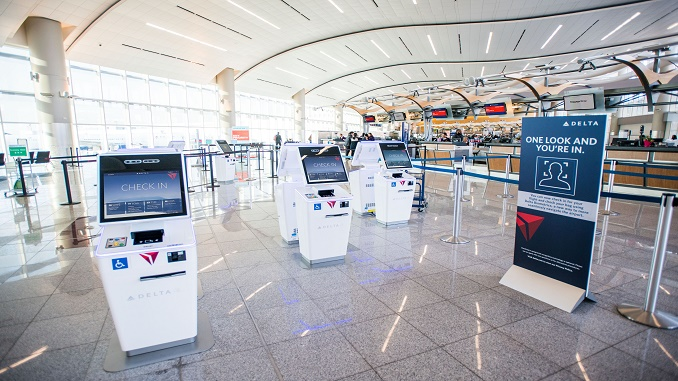 Delta biometric check-in