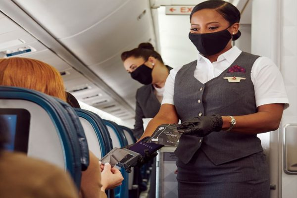 Delta touchless payment onboard