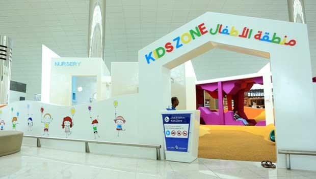 Dubai Airport opens family area at Terminal 3