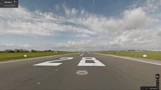 Dublin Airport maps airfield with Google Street View