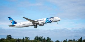 EGYPTAIR introduces inflight mobile connectivity from Aeromobile