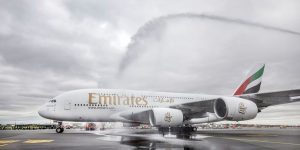 Hamburg is 50th airport served by Emirates A380