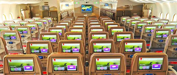 Emirates new generation inflight entertainment system