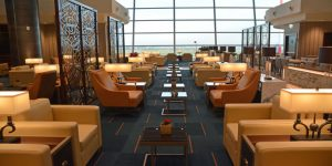 Emirates opens new lounge at Rome Fiumicino