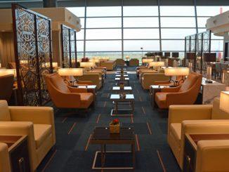 Emirates Rome lounge