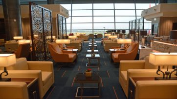 Emirates Rome lounge